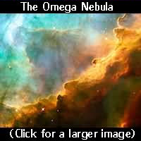 Omega Nebula - Click for larger image